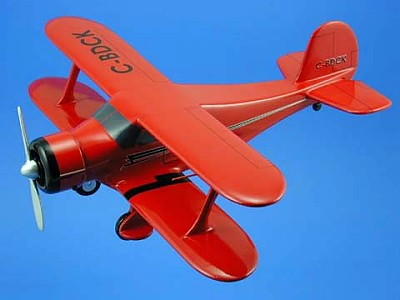 Staggerwing Beech Model 17 Scale Model Aircraft