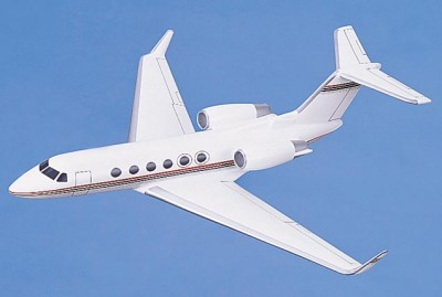 Gulfstream IV Scale Model Aircraft