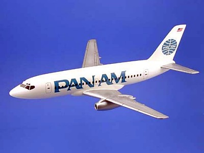 Boeing 737-300 Pan American Airlines Scale Model Aircraft