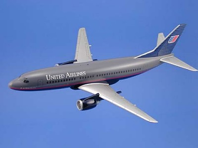 Boeing 737-300 United Airlines Scale Model Aircraft