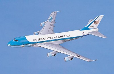 Boeing 747-200 Air Force One Scale Model Aircraft