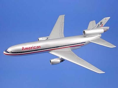 American Airlines DC-10 Scale Model Aircraft