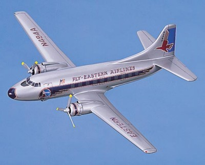 Martin 404 Eastern Airlines Scale Model Aircraft