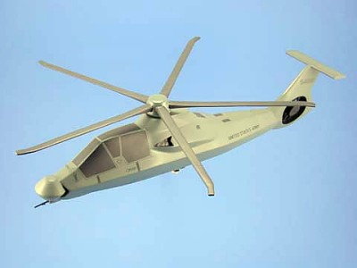 RAH-66 Comanche Army Scale Model Helicopter