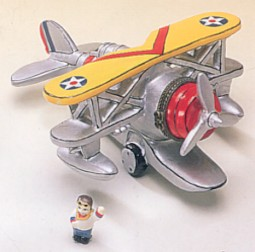 Grumman J2f-2 Duck Porcelain Hinged Box With Pilot