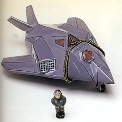 F-117 Nighthawk Hinged Box With Pilot