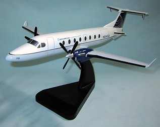 Beechcraft 1900D Continental Express Custom Scale Model Aircraft