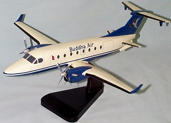 Beechcraft 1900D Buddah Air Custom Scale Model Aircraft