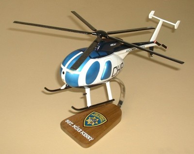 Hughes 500D CHP Helicopter Custom Scale Model Aircraft