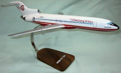 Chanchangi Airlines 727-200 Custom Scale Model Aircraft