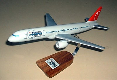 Northwest Airlines Boeing 757 Custom Scale Model Aircraft