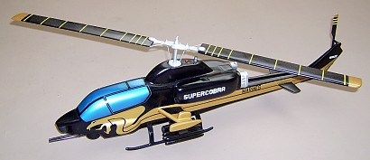 Ah-1w Supercobra Custom Scale Model Helicopter