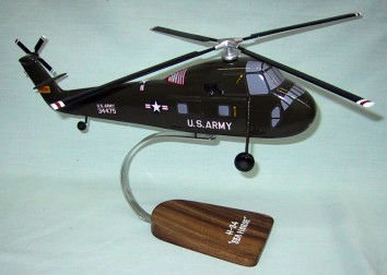 United States Army H-34 Seahorse Helicopter Custom Scale Model Aircraft
