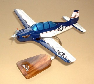 T-34 Mentor Custom Scale Model Aircraft