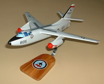 A-3D Skywarrior Navy Custom Scale Model Aircraft