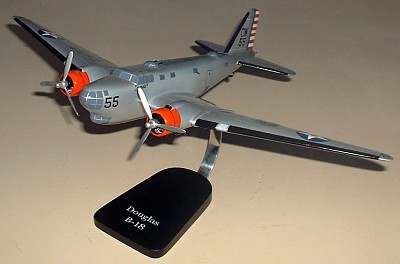 B-18 Bolo Custom Scale Model Aircraft