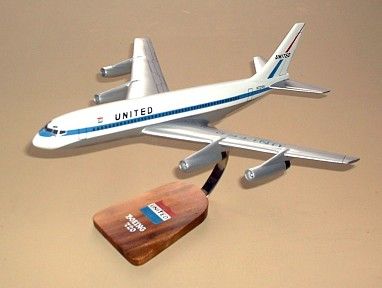 United Airlines Boeing 720 Custom Scale Model Aircraft