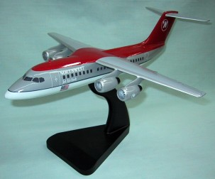 BAE-146 Northwest Airlines Custom Scale Model Aircraft
