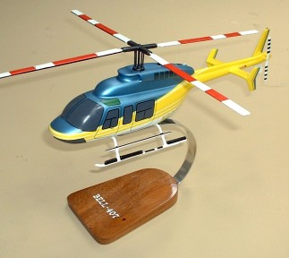Bell 407 Helicopter Custom Scale Model Aircraft