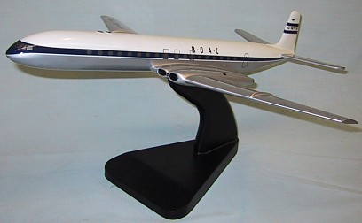 BOAC Comet Custom Scale Model Aircraft