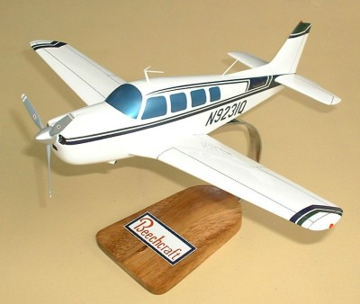 Beech B-36 Bonanza Custom Scale Model Aircraft