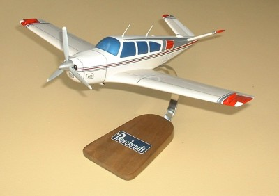 Beech B-35 V-Tail Bonanza Custom Scale Model Aircraft