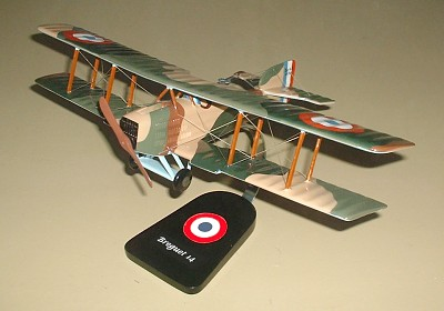 French Breguet 14 Custom Scale Model Aircraft