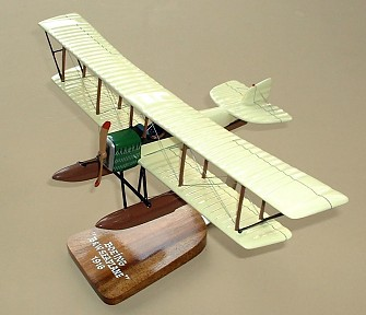 Boeing 1916 B&W Seaplane Custom Scale Model Aircraft