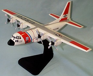 C-130 United States Coast Guard Custom Scale Model Aircraft