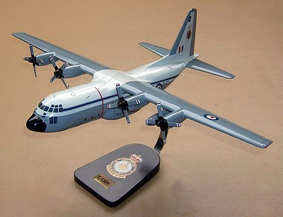 C-130H Hercules Royal New Zealand Air Force Custom Scale Model Aircraft