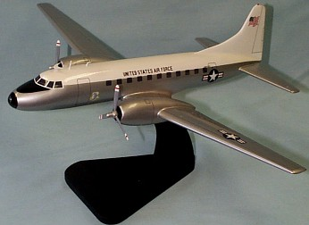 C-131 Military Transport Custom Scale Model Aircraft