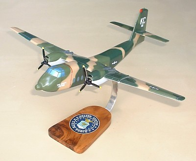 Dehavilland C-7A Caribou Custom Scale Model Aircraft