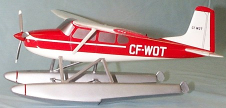 Cessna 185 With Floats Custom Scale Model Aircraft