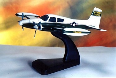 Cessna 310 US Army Version Custom Scale Model Aircraft