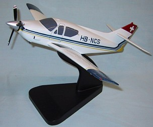Rockwell Commander 114 Custom Scale Model Aircraft