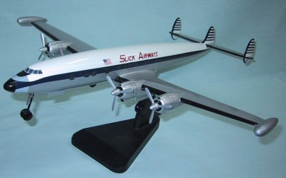 Lockheed Constellation Slick Airways Gear Down Custom Scale Model Aircraft