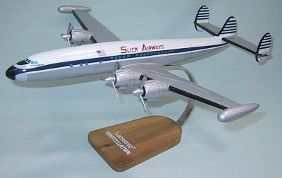 Lockheed Constellation Slick Airways Gear Up Custom Scale Model Aircraft