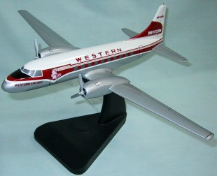 Convair 240 Western Airlines Custom Scale Model Aircraft