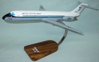 United States Navy Douglas DC9 Custom Scale Model Aircraft