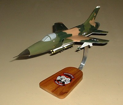 F-105D Thunderchief Custom Scale Model Aircraft