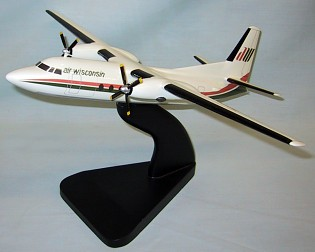 Fokker F-27 Air Wisconsin Custom Scale Model Aircraft