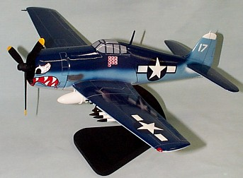 F6F-3 Hellcat Custom Scale Model Aircraft