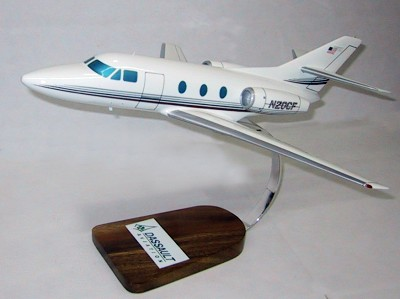 Dassault Falcon 10 Custom Scale Model Aircraft