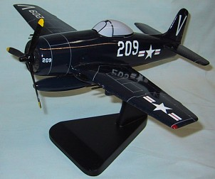 Grumman F8F Bearcat Custom Scale Model Aircraft