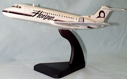 Fokker F28-4000 Horizon Air Custom Scale Model Aircraft