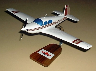 Mooney M20J Custom Scale Model Aircraft