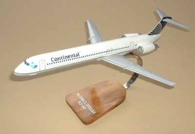 Continental Airlines MD-80 Custom Scale Model Aircraft