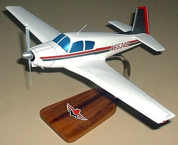 Mooney Mark 20 Custom Scale Model Aircraft