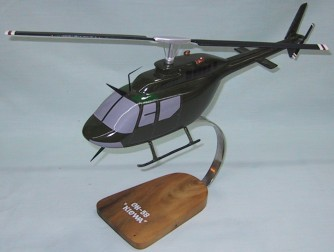US Army OH-58 Helicopter Custom Scale Model Aircraft