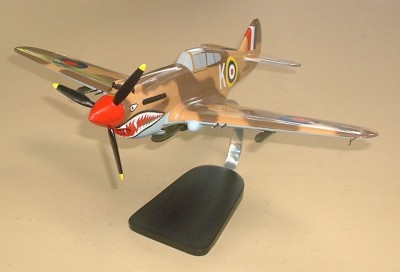 P-40K RAF Custom Scale Model Aircraft